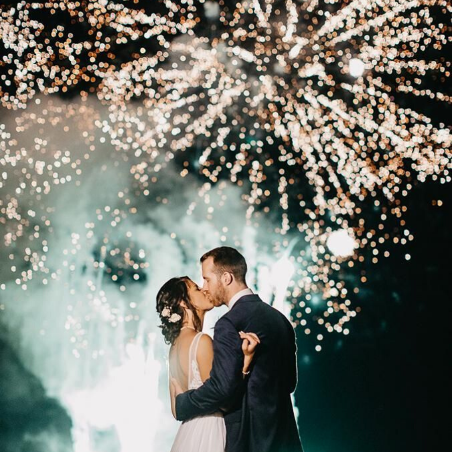 Chase Lane Fireworks Featured Image, Glenfall House, Cotswold Wedding Venue