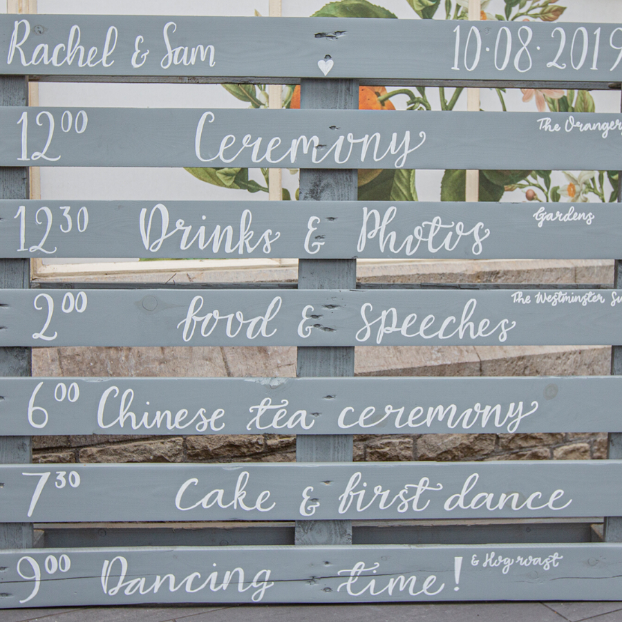 RKM Calligraphy, Featured Image, Glenfall House, Cotswold Wedding Venue